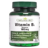 Natures Aid Vitamin B1 Thiamin Hydro 100mg 90 tablet