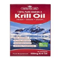 Natures Aid Krill Oil 500mg 60 capsule