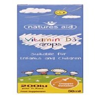 Natures Aid Vitamin D3 400iu Drops 50ml