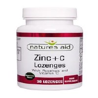 Natures Aid Zinc Lozenges (Peppermint) 30 tablet