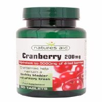 Natures Aid Cranberry 200mg 90 tablet