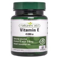Natures Aid Vitamin E 400iu 60 capsule
