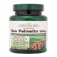 Natures Aid Saw Palmetto 500mg 90 tablet