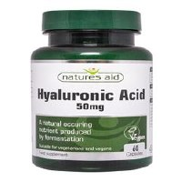 Natures Aid Hyaluronic Acid 60 Caps