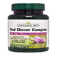 Natures Aid Red Clover Complex with Sage 120 Tablets