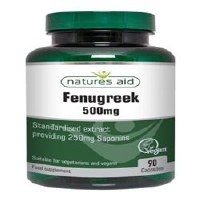 Natures Aid Fenugreek 500mg 90 capsule