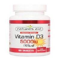 Natures Aid Vitamin D3 5000iu 60 tablet
