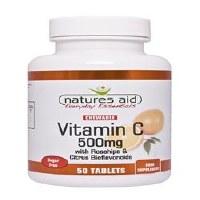 Natures Aid Vitamin C 500mg Sugar Free Che 50 tablet