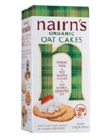 Nairns Organic Oat Cakes 1x250g