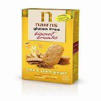 Nairns GF Biscuit Breaks Stem Ginger 160g