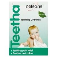 Nelsons Teetha Teething Granules 24 sachet