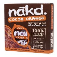 Nakd Cocoa Orange MP 4X35g
