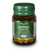 Natures Own Niacin B3 50mg 50 tablet