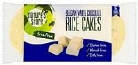 Natures Store Belgian White Choc Rice Cakes 100g