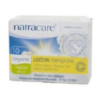 Natracare Org Non Applicator Tampons Reg 10pieces