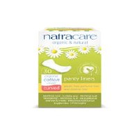 Natracare Natural Pantyliners Curved 30pieces