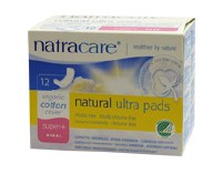 Natracare Ultra Pads Super Plus 12pieces