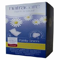 Natracare Panty Liner Normal Wrapped 18pieces