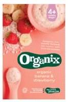 Organix Strawberry and Banana Porridge 120g
