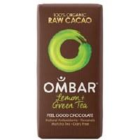 Ombar Lemon & Green Tea Bar 35g