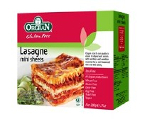 Orgran Rice & Corn Mini Lasagne 200g