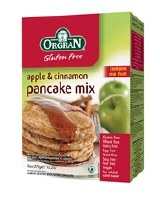 Orgran Apple & Cinnamon Pancake Mix 1x375gm