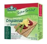 Orgran Quinoa Crispbread 125g