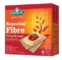 Orgran Essential Fibre Crispbread 125g