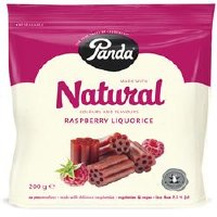 Panda Raspberry Cuts Bag 200g