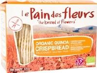 Le Pain des Fleurs Org Quinoa GF Crispbread 150g