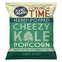 Planet Organic Cheezy Kale Popcorn 20g