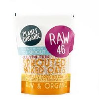 Planet Organic Sprouted Rolled Naked Oats 300g