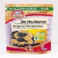 Pearls of Samarkand Org Black & White Mulberries 100g