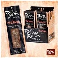 Primal Spirit Vegan Jerky Strips Thai PNut 28g