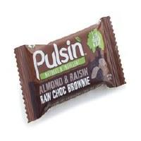Pulsin Almond & Raisin Choc Brownie 35g