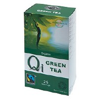 Qi Organic Fairtrade Green Tea 25bag
