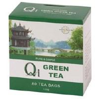 Qi Green Tea Pure & Simple 80bag