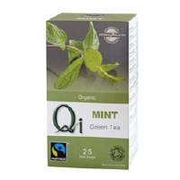 Qi Organic Green Tea & Mint 25bag