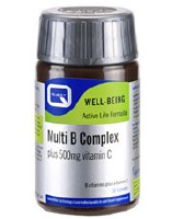 Quest Vitamins Ltd Multi B Complex + 500mg C 30 tablet