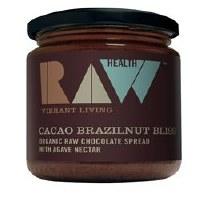 Raw Health Org Cacao Brazil Choc Spread 170g