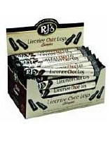 RJ Licorice Licorice / Choc Single Logs 40g
