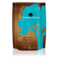 Rainforest Foods Organic Spirulina Powder 200g