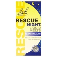 Nelsons Bach Rescue Nights Melts  1x28caps