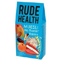 Rude Health No Flamin' Raisins Muesli 500g