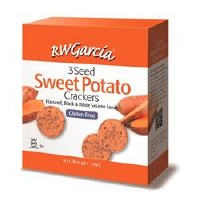 R W Garcia Sweet Potato Crackers 180g