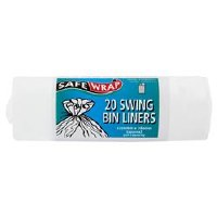 Safewrap Swing Bin Liners 20bag