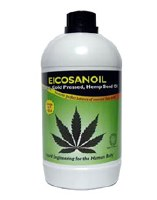 Swiss Herbal Eicosanoil Hemp Seed Oil 1000ml
