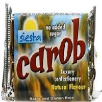 Siesta Natural Carob Bar 50g