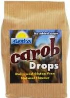Siesta Natural Carob Drops 120g