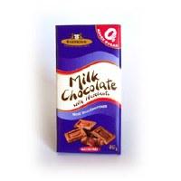 Simpkins H/Nut Choc Bar No add Sugar 75g
